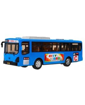Školský autobus modrý